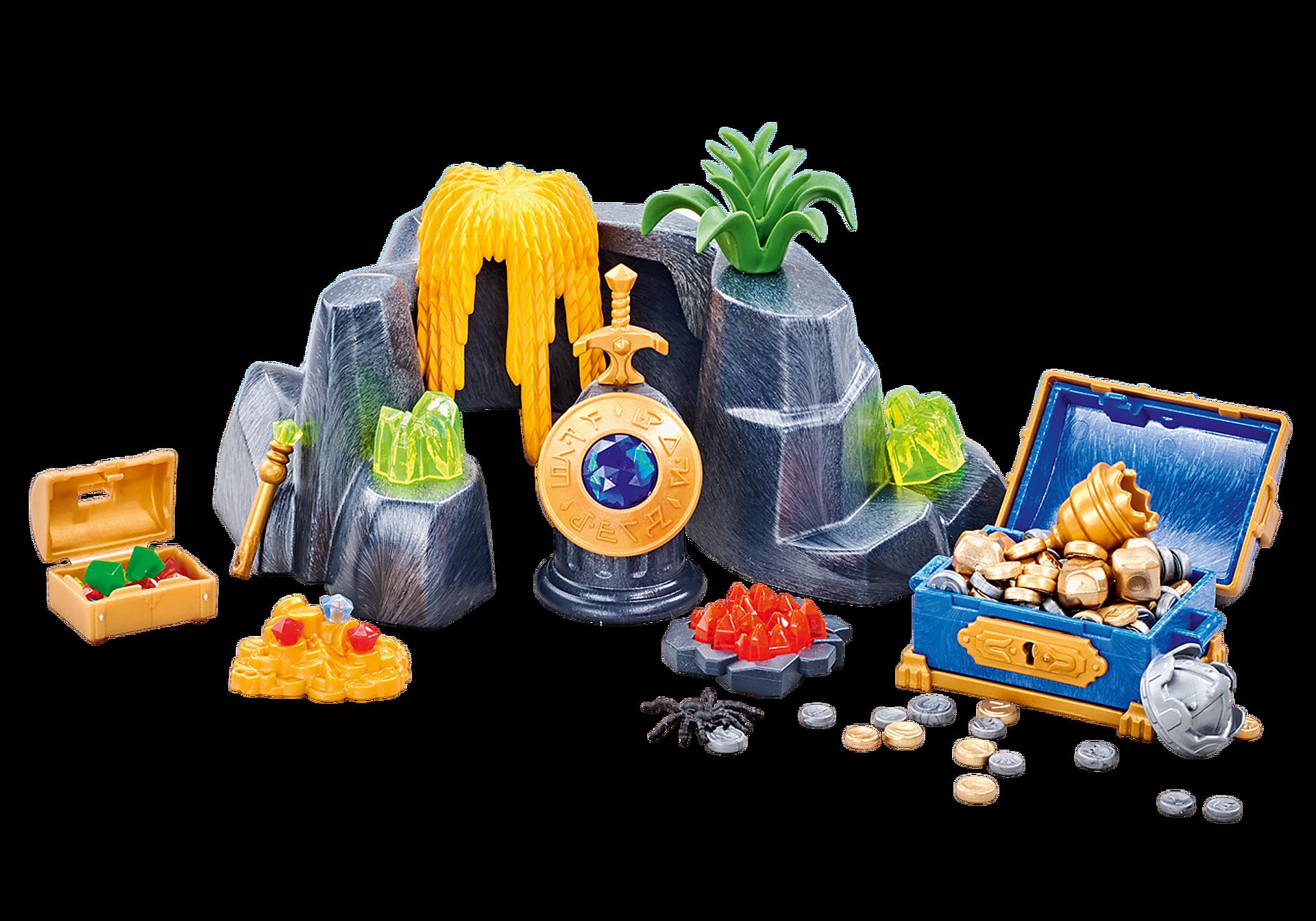 http://media.playmobil.com/i/playmobil/6594_product_detail/Μεγάλη κρυψώνα θησαυρού σε βράχια