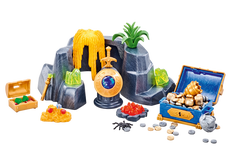 Playmobil Large Treasure Rock Hideout 6594