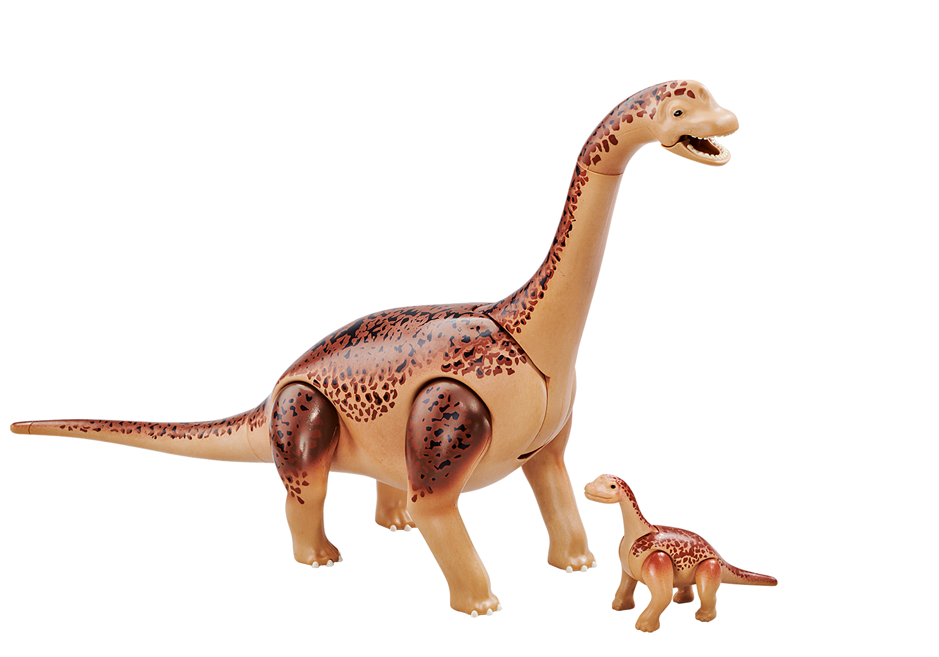 6595 Brachiosaurus met baby zoom image1