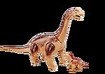 6595 Brachiosaurus with baby