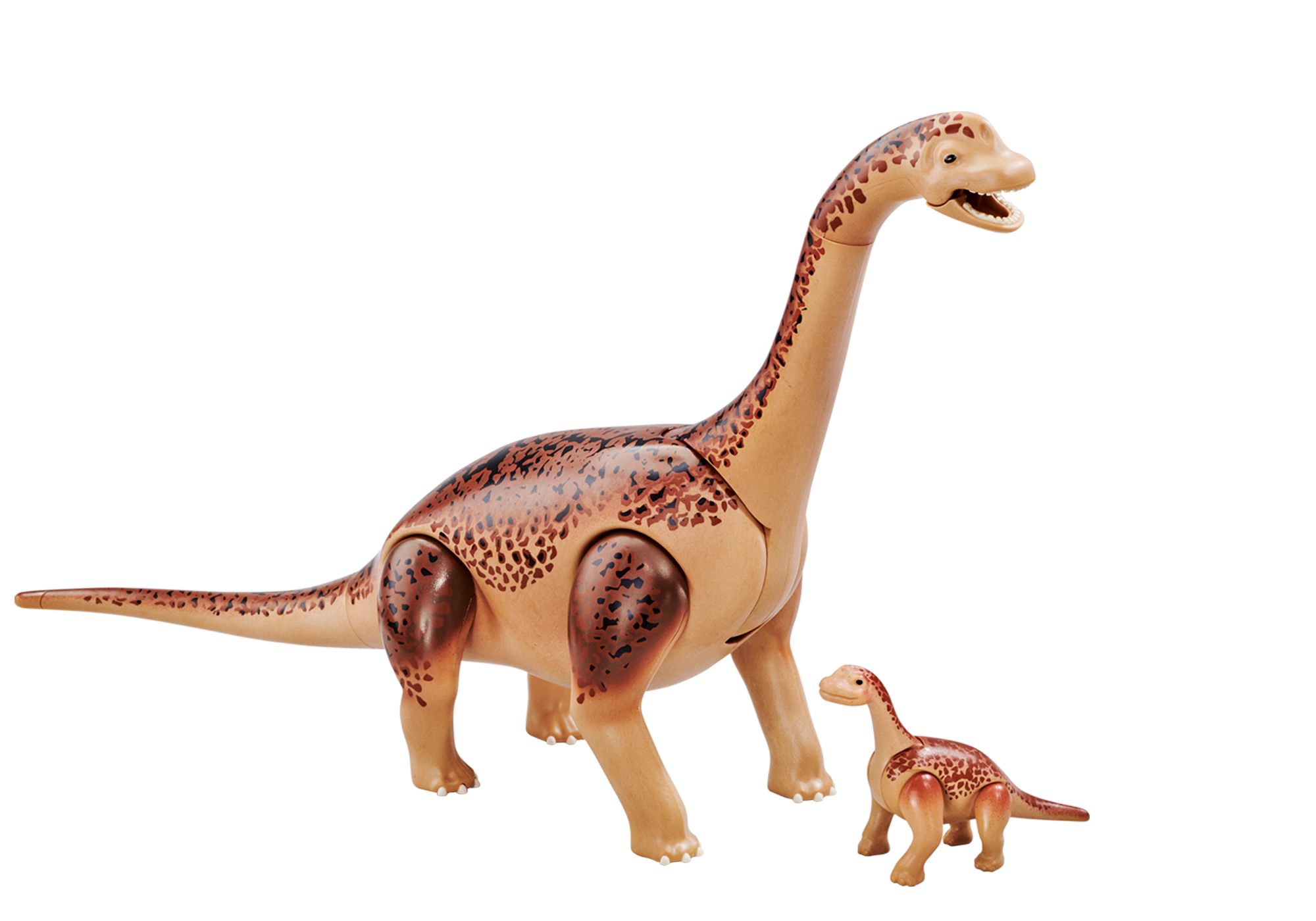 6595_product_detail/Brachiosaurus with baby