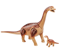 Playmobil Brachiosaurus With Baby 6595