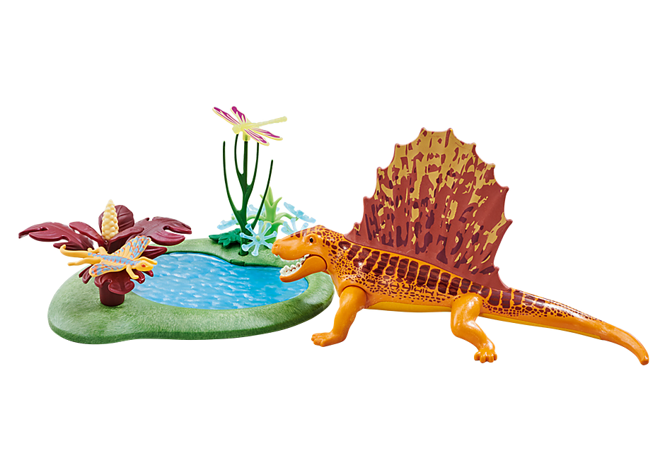 6596 Dimetrodon with Pond detail image 1