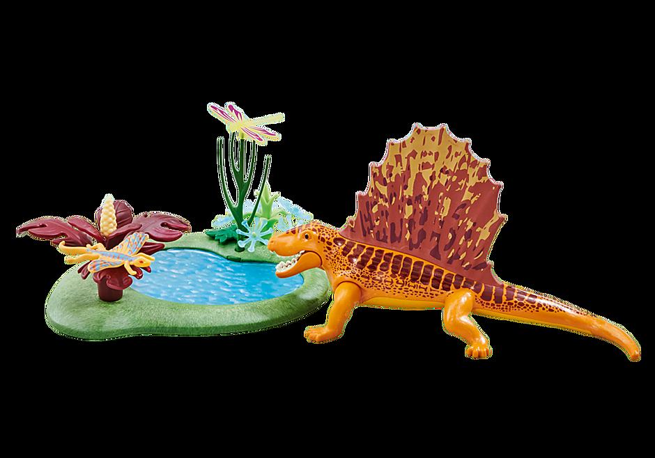 6596 Dimetrodon with Pond detail image 1