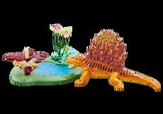 Playmobil Dimetrodon With Pond 6596