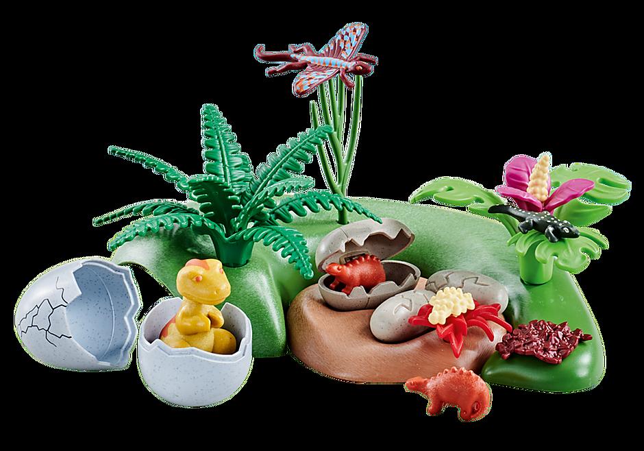 6597 Bébés dinosaures dans nids detail image 1