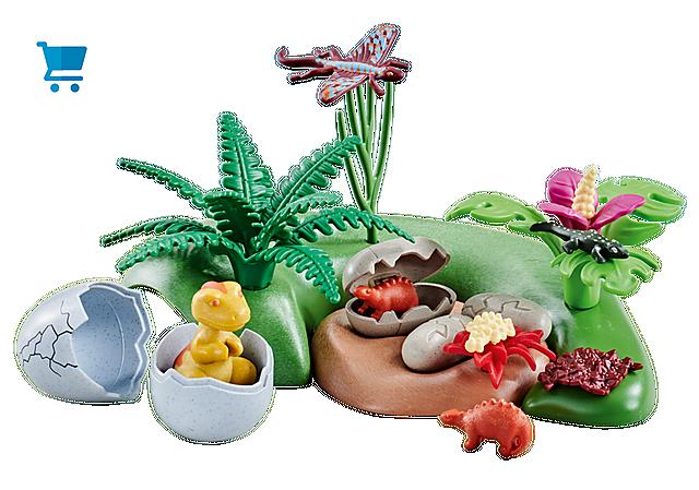 6597_product_detail/Bébés dinosaures dans nids