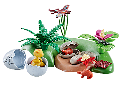6597 Dino-Baby im Nest