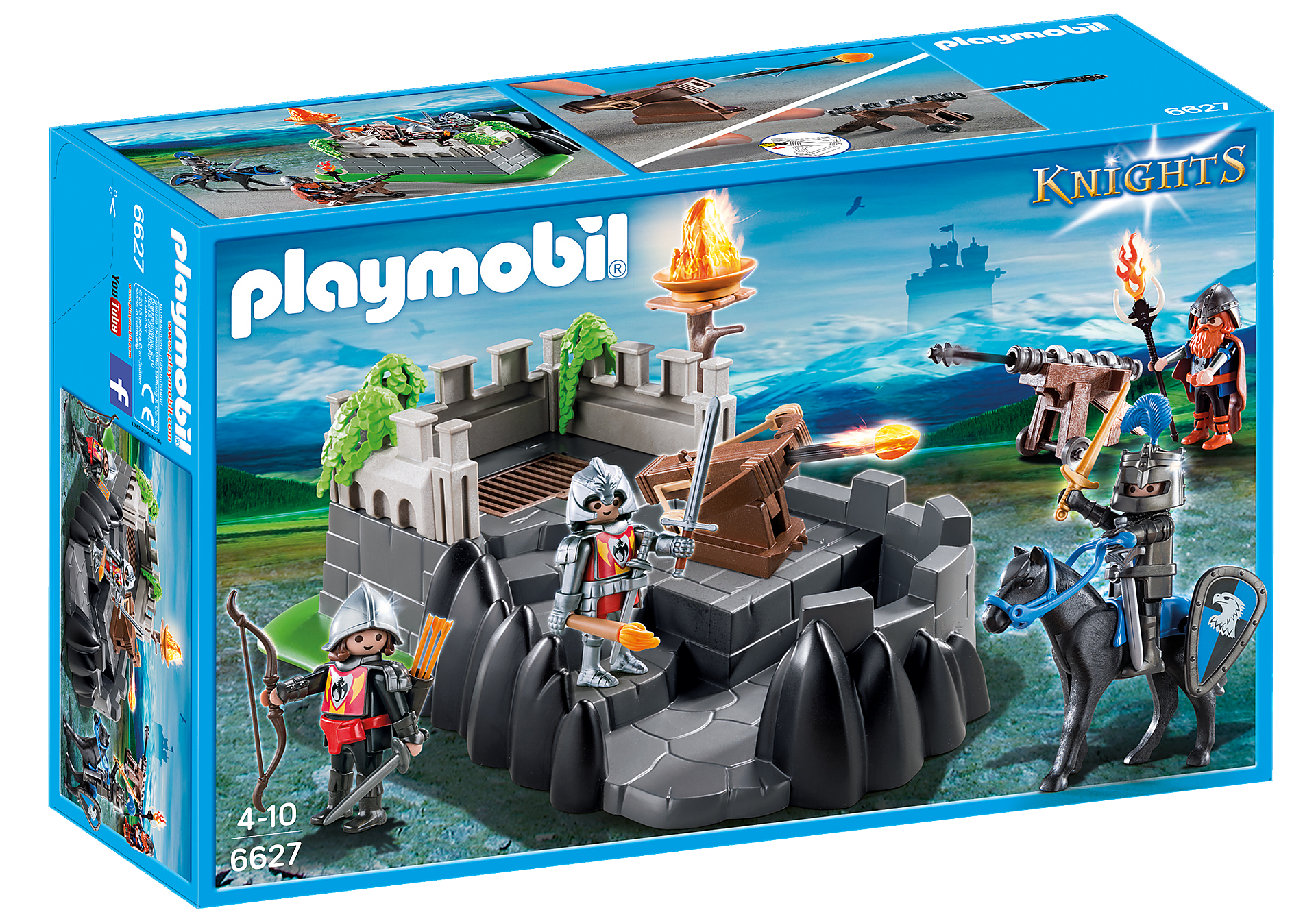 http://media.playmobil.com/i/playmobil/6627_product_box_front/Καταφύγιο ιπποτών δράκου