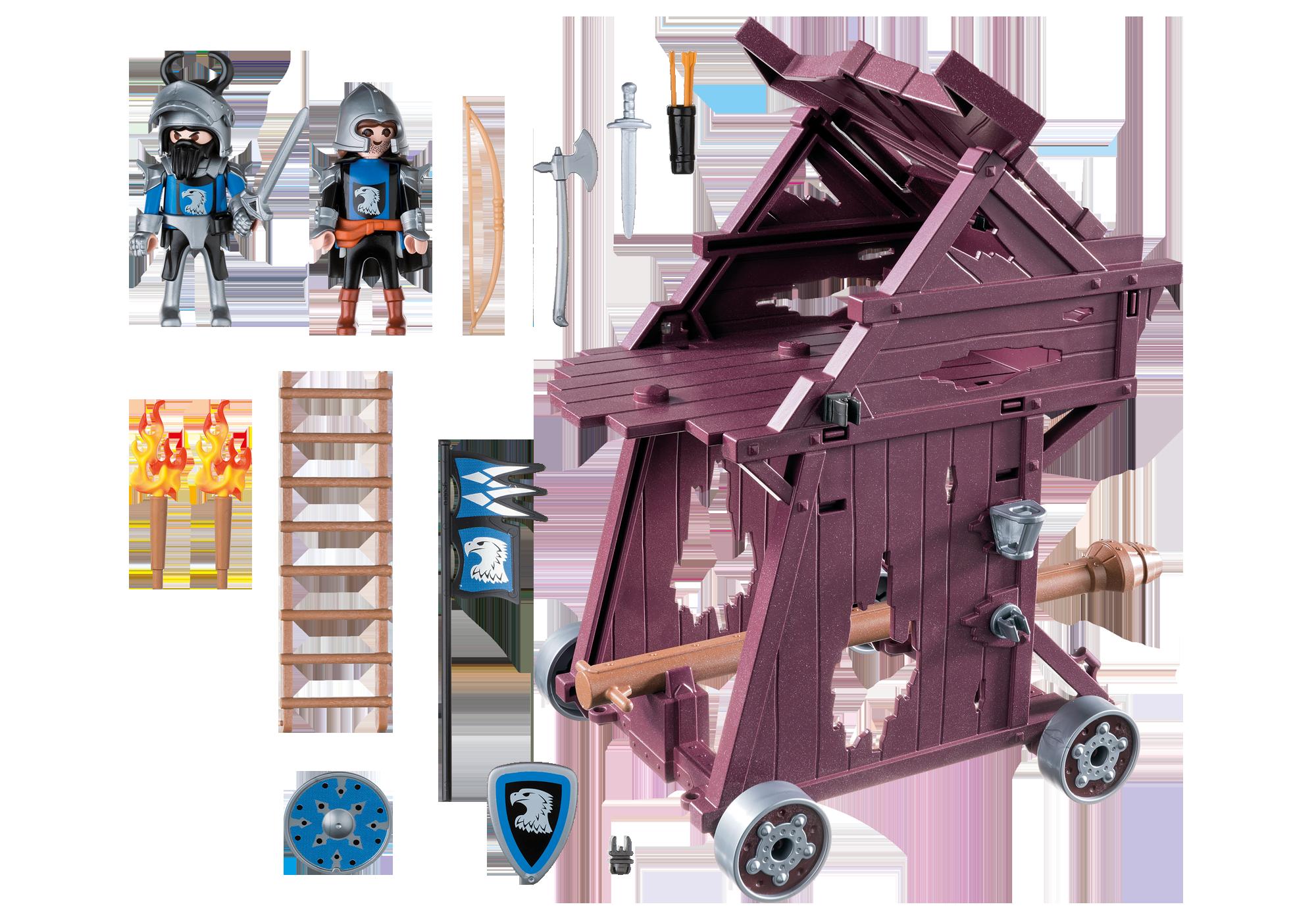 http://media.playmobil.com/i/playmobil/6628_product_box_back/Соперничество Рыцарей: Рыцари Орла атакуют Башню
