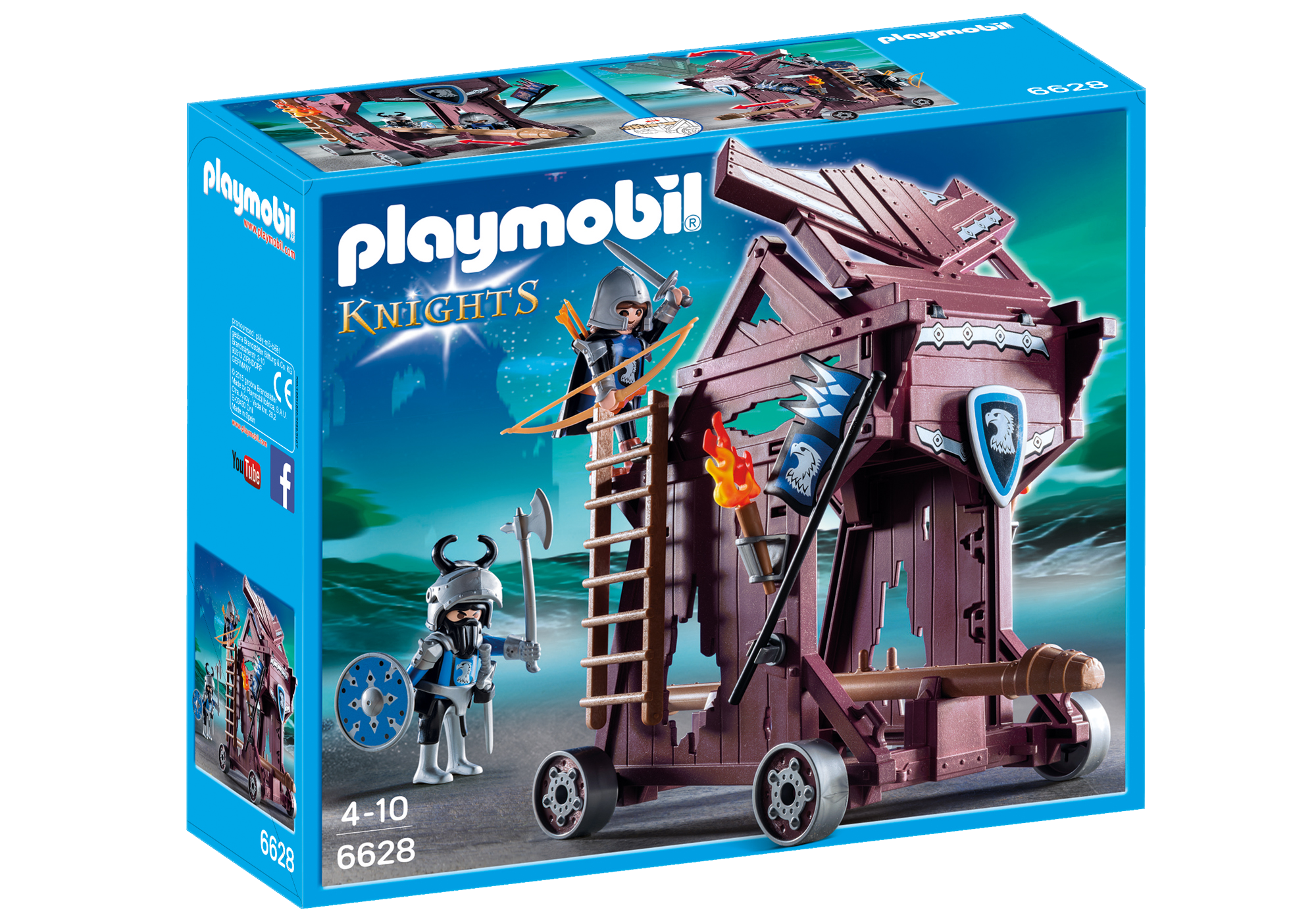 http://media.playmobil.com/i/playmobil/6628_product_box_front/Соперничество Рыцарей: Рыцари Орла атакуют Башню
