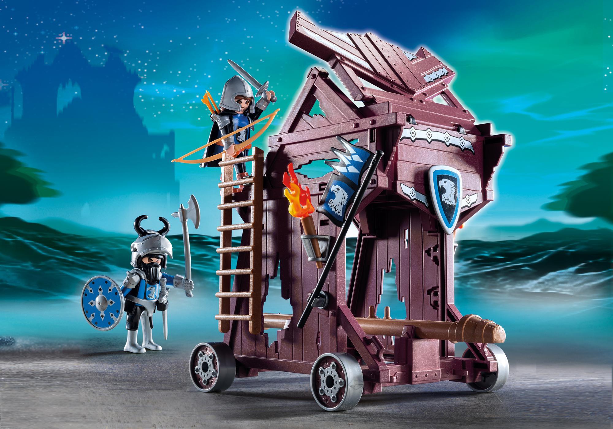 http://media.playmobil.com/i/playmobil/6628_product_detail/Соперничество Рыцарей: Рыцари Орла атакуют Башню