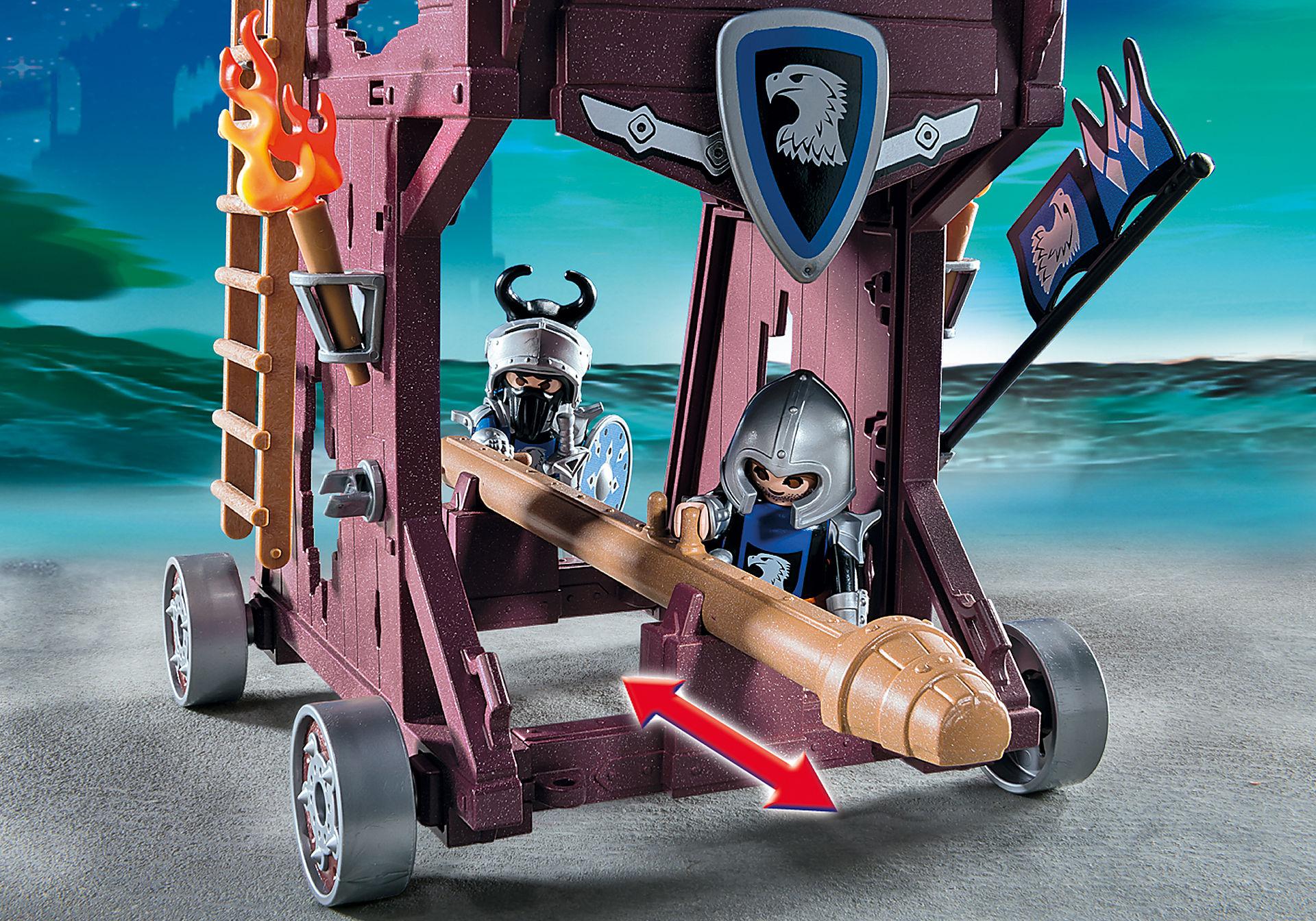 http://media.playmobil.com/i/playmobil/6628_product_extra1/Torre de Ataque de los Caballeros del Halcón