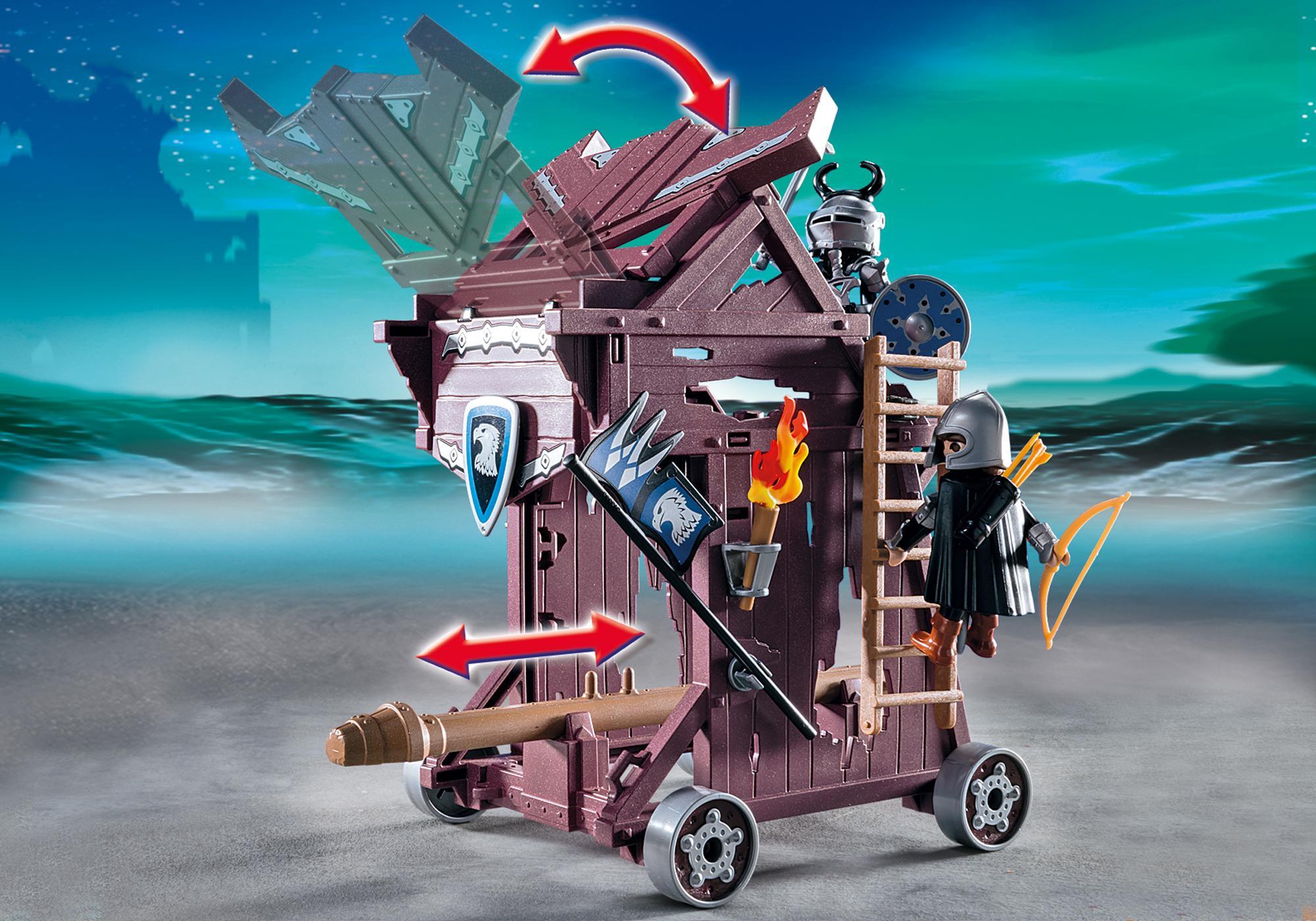 http://media.playmobil.com/i/playmobil/6628_product_extra2/Torre de Ataque de los Caballeros del Halcón