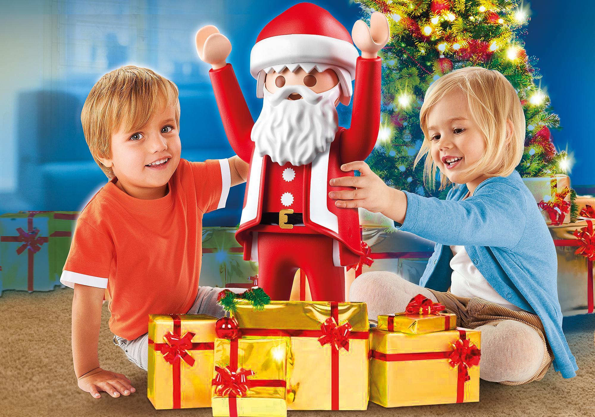playmobil xxl santa claus 6629 playmobil usa