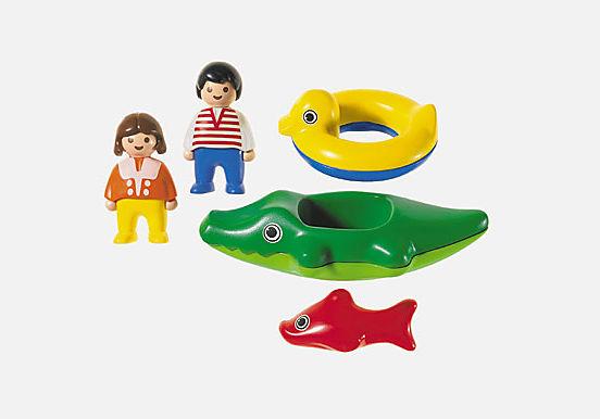 6633-A Enfants/bateau crocodile detail image 2