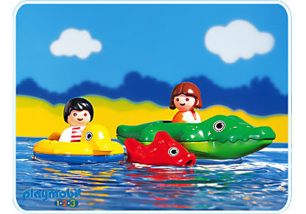 http://media.playmobil.com/i/playmobil/6633-A_product_detail/Badekrokodil / Kind 1.2.3
