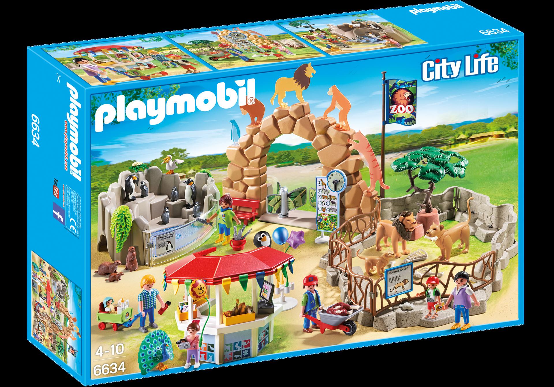 grand zoo 6634 playmobil france