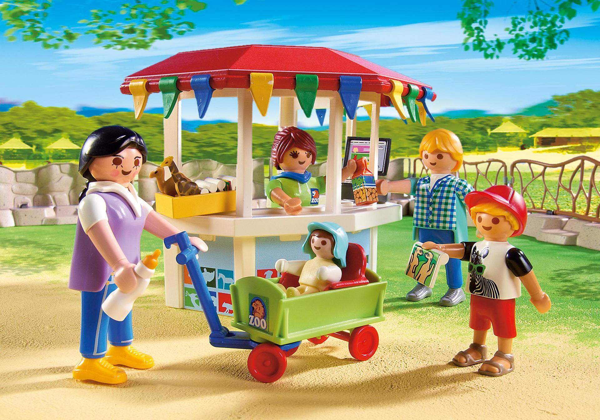 gran zoo 6634 playmobil espa a. Black Bedroom Furniture Sets. Home Design Ideas