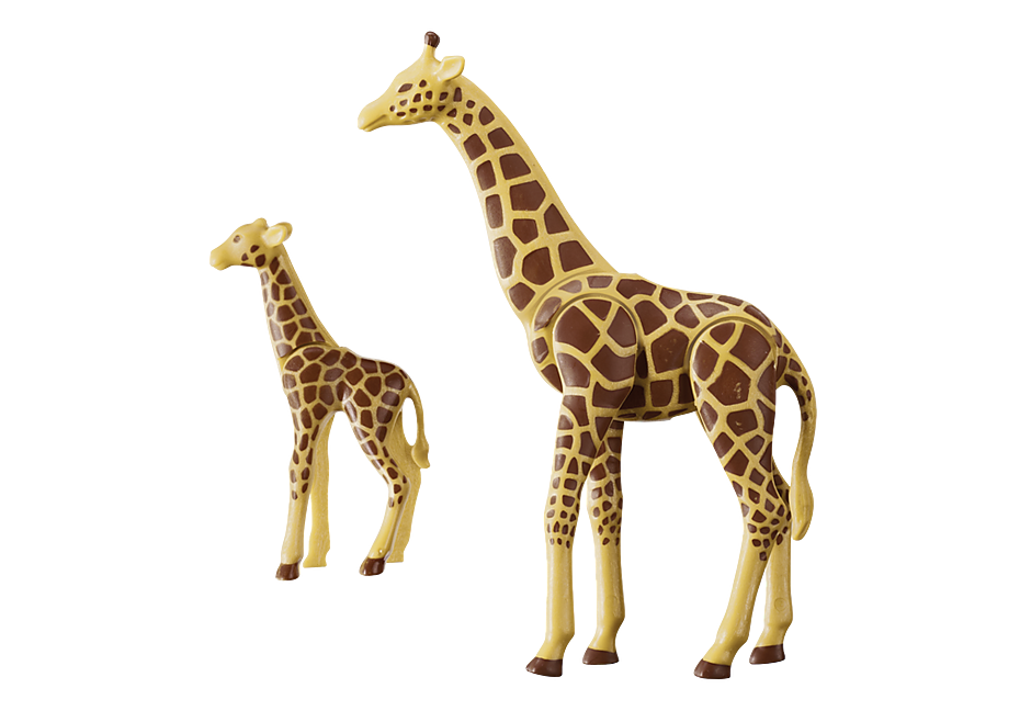6640 Giraffe with Calf detail image 3