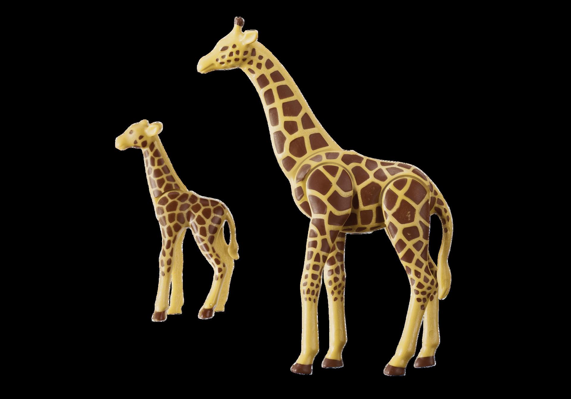 Giraffe With Calf 6640 Playmobil 174 Usa