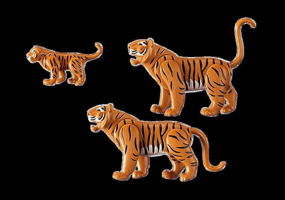 6645 2 Tiger mit Baby detail image 3