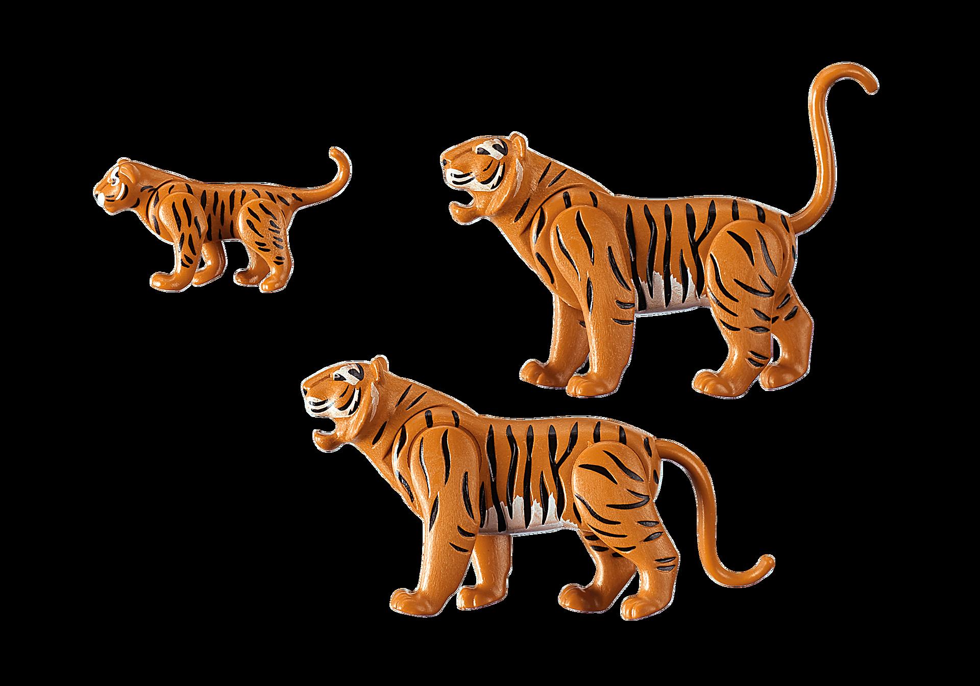 6645 2 Tiger mit Baby zoom image3