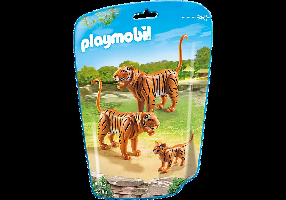 6645 2 Tiger mit Baby detail image 2