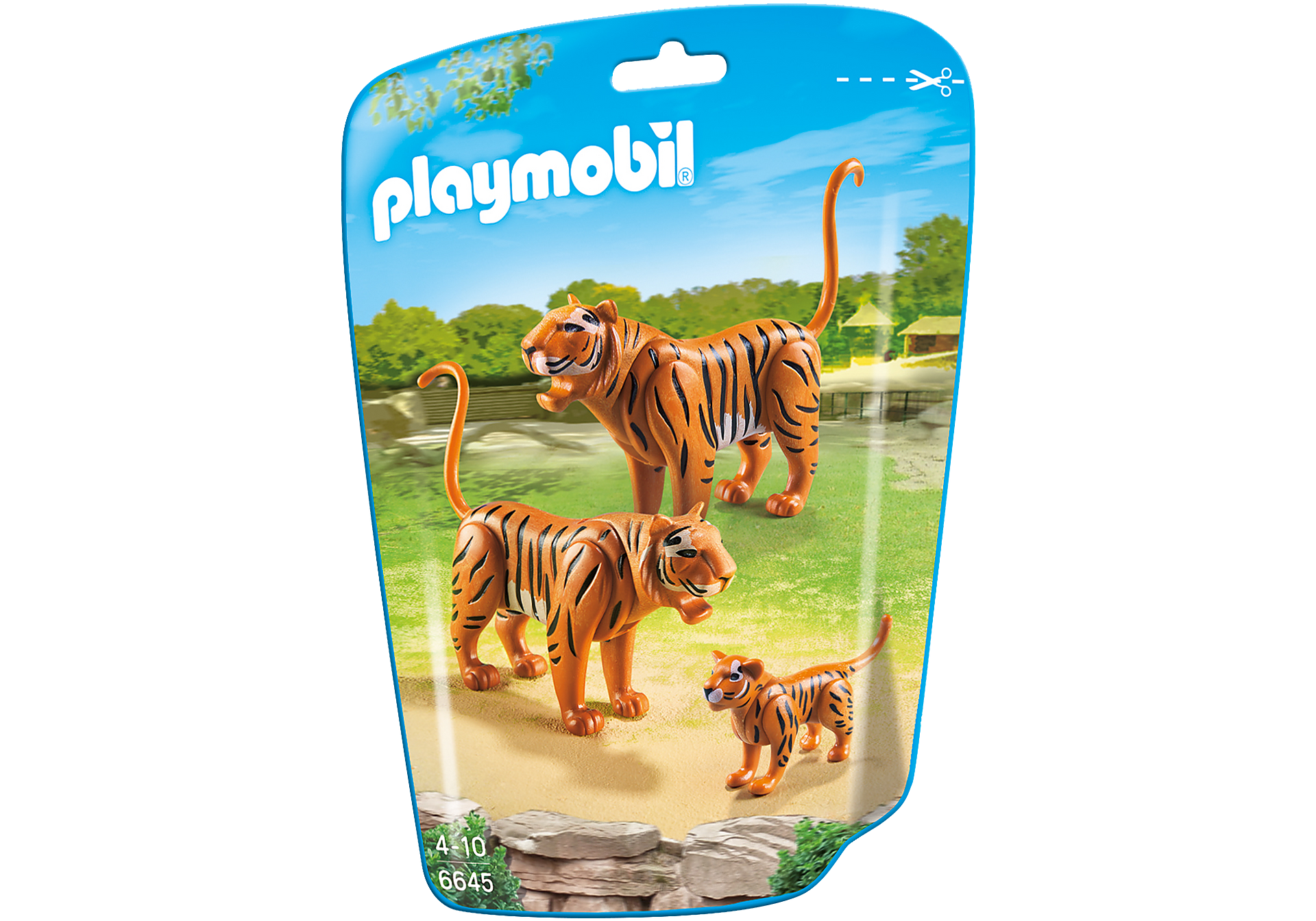 6645 2 Tiger mit Baby zoom image2