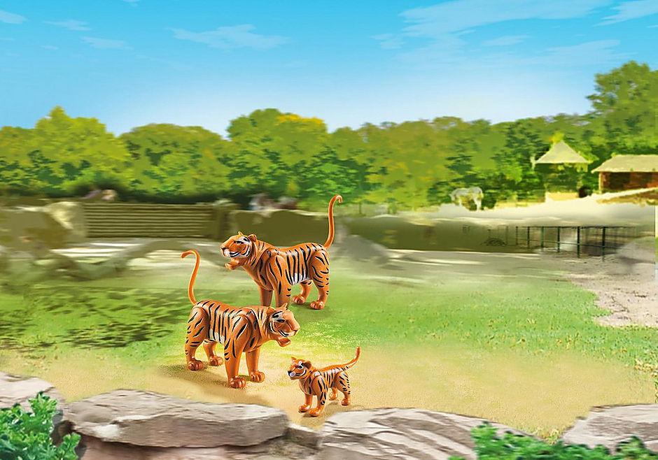 6645 2 Tiger mit Baby detail image 1