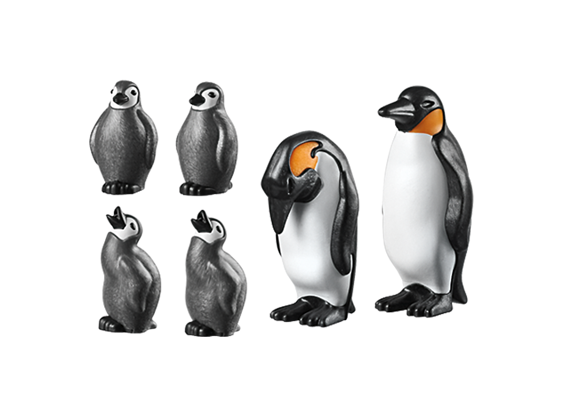 6649 Penguin Family zoom image3