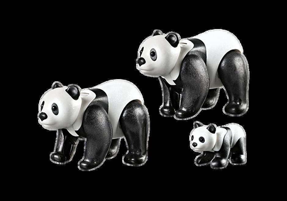 6652 Panda Family detail image 3