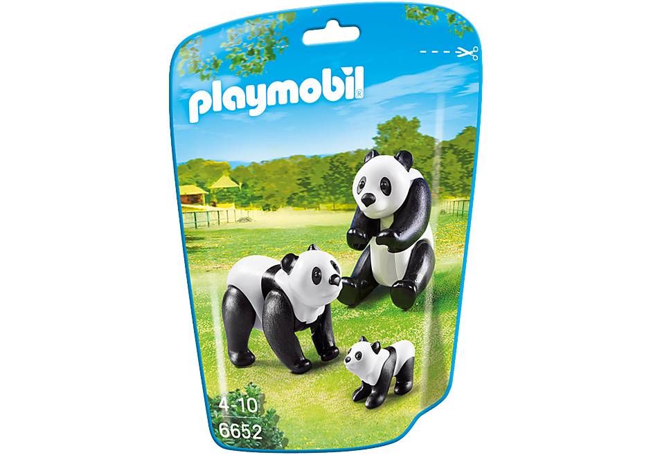 6652 Panda Family detail image 2