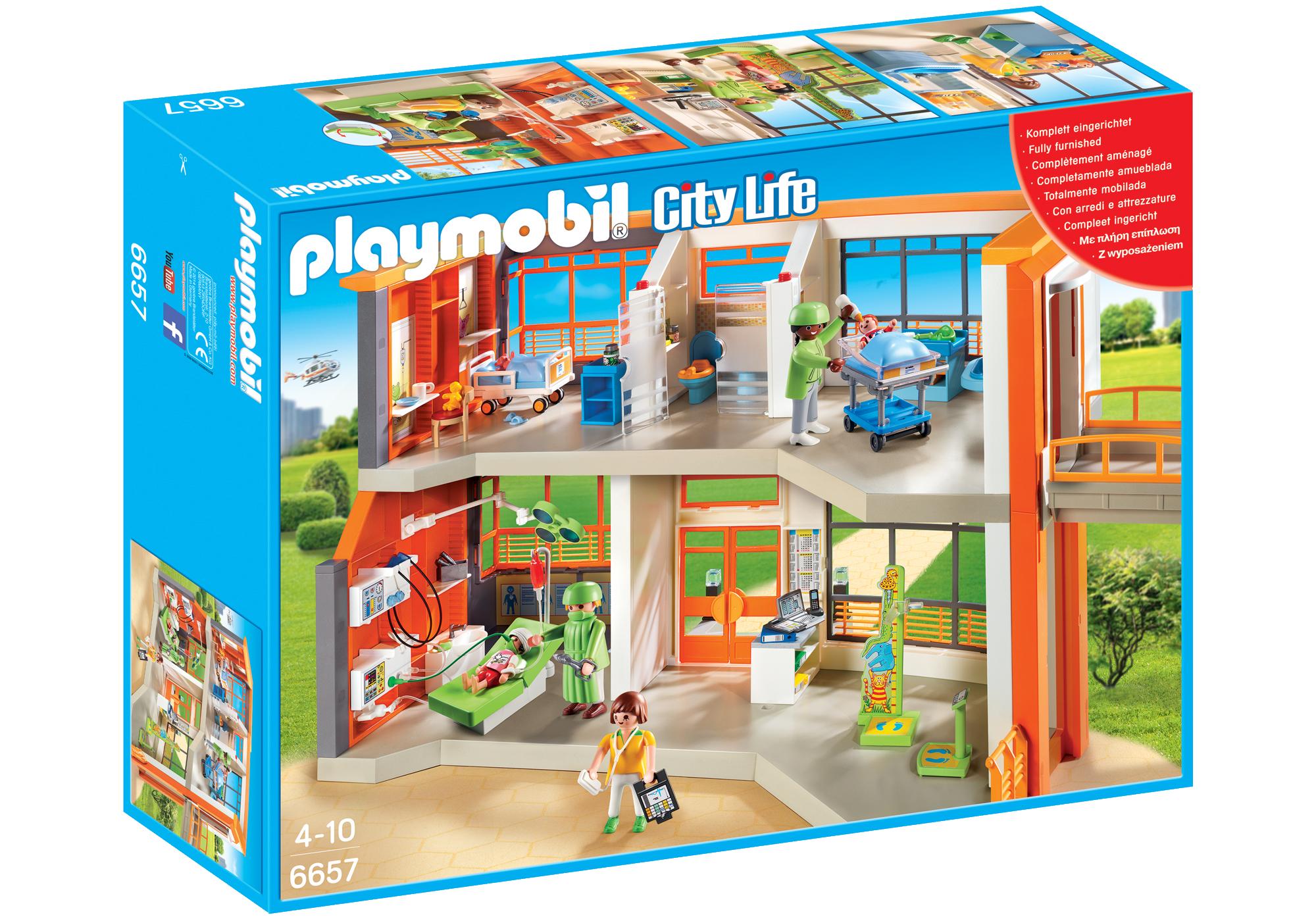http://media.playmobil.com/i/playmobil/6657_product_box_front/Hôpital pédiatrique aménagé
