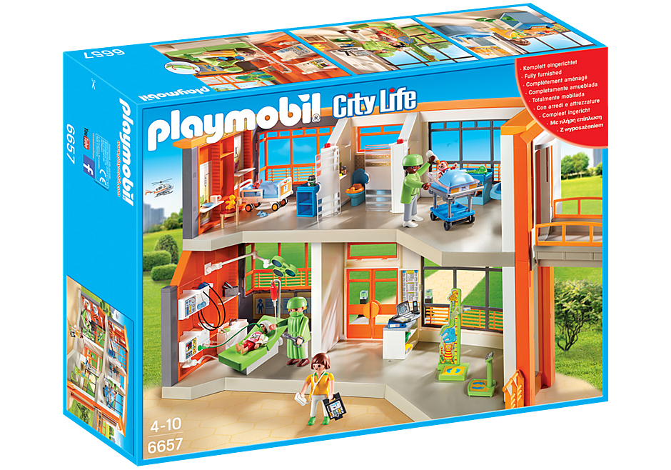 http://media.playmobil.com/i/playmobil/6657_product_box_front/Kinderklinik mit Einrichtung
