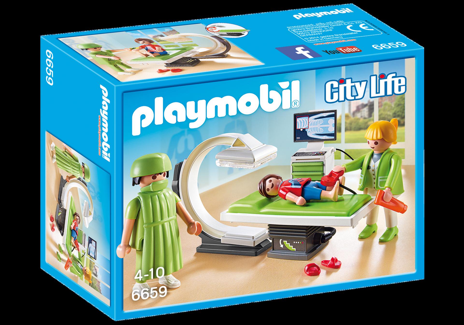 Salle de radiologie 6659 playmobil france for Salle de sejour playmobil