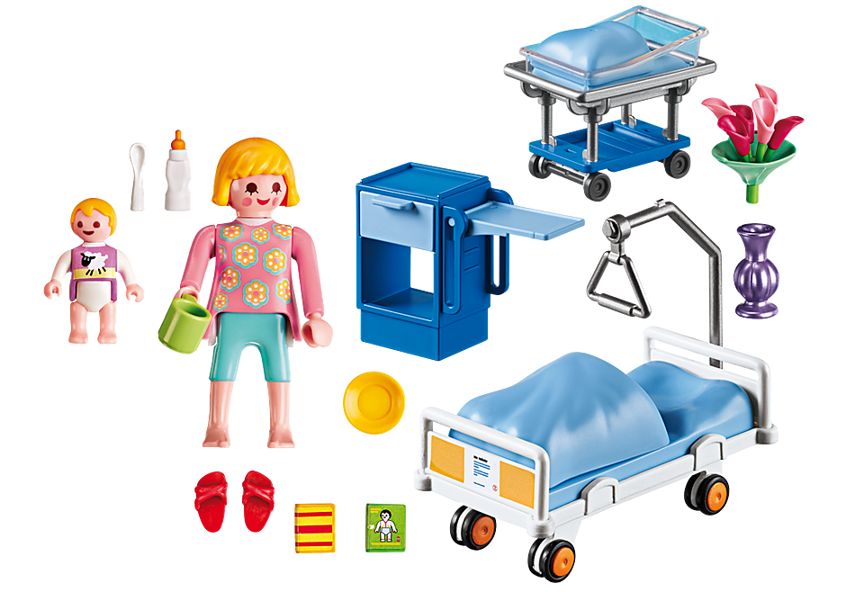 http://media.playmobil.com/i/playmobil/6660_product_box_back/Sala de Maternidad