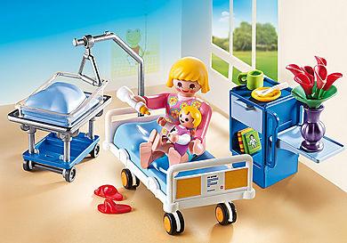 6660_product_detail/Krankenzimmer mit Babybett