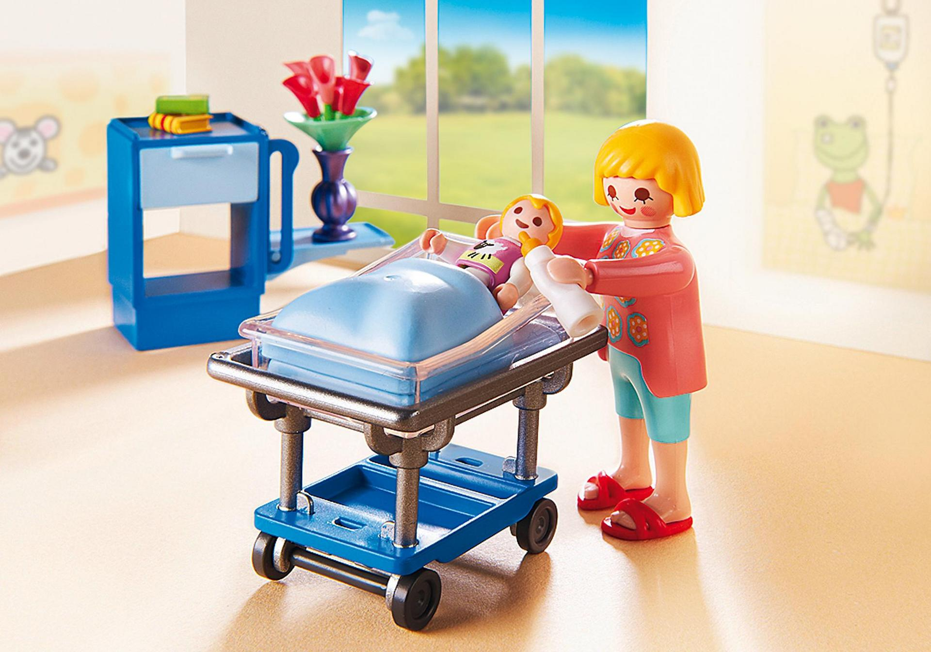 Maternity room 6660 playmobil for Table playmobil