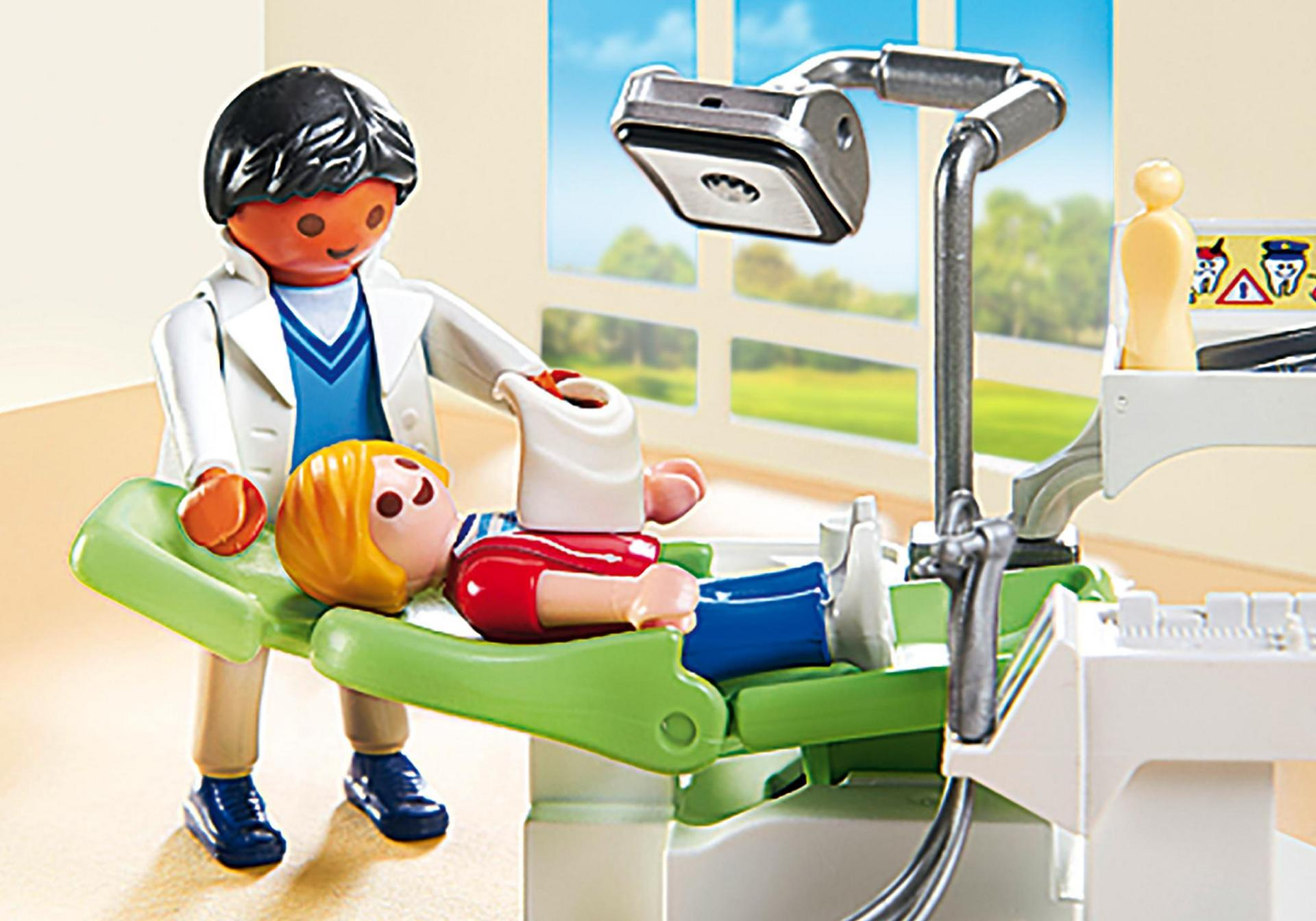 dentist with patient 6662 playmobil 174 usa