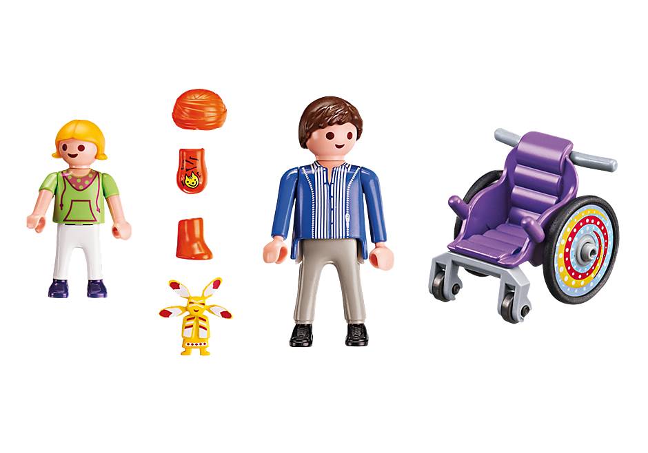 http://media.playmobil.com/i/playmobil/6663_product_box_back/Kind im Rollstuhl