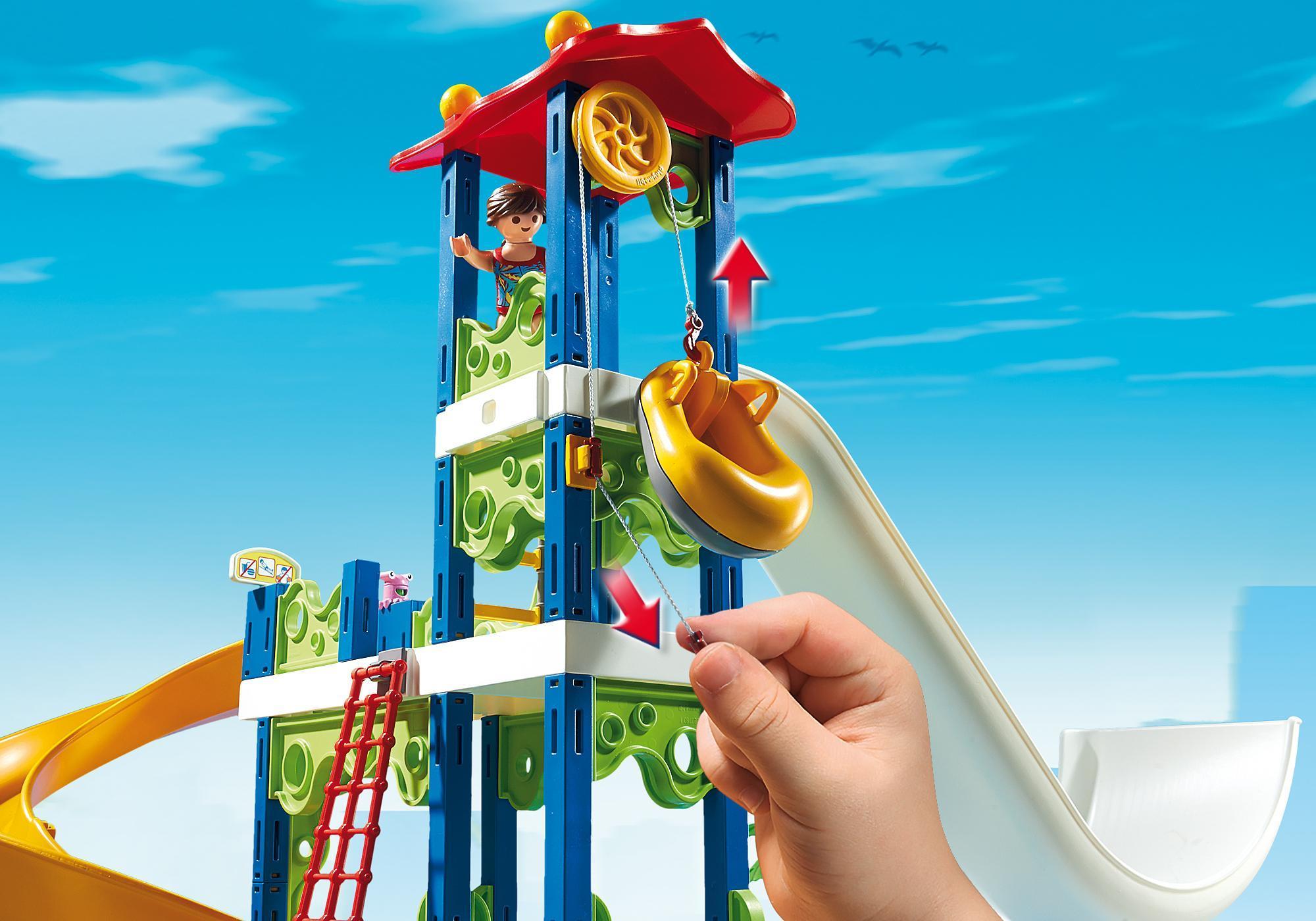 http://media.playmobil.com/i/playmobil/6669_product_extra1/Parque Acuático con Toboganes