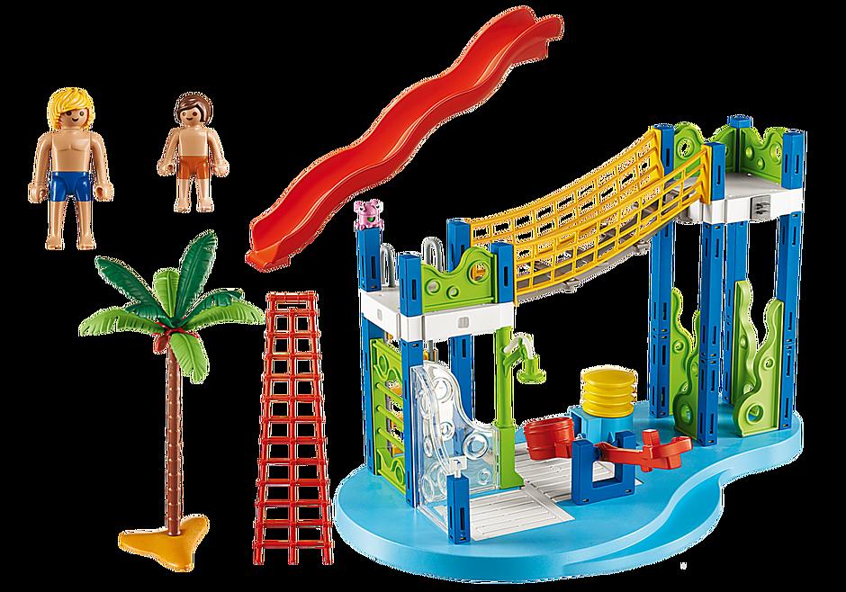 http://media.playmobil.com/i/playmobil/6670_product_box_back/Área de Brincadeiras Aquáticas
