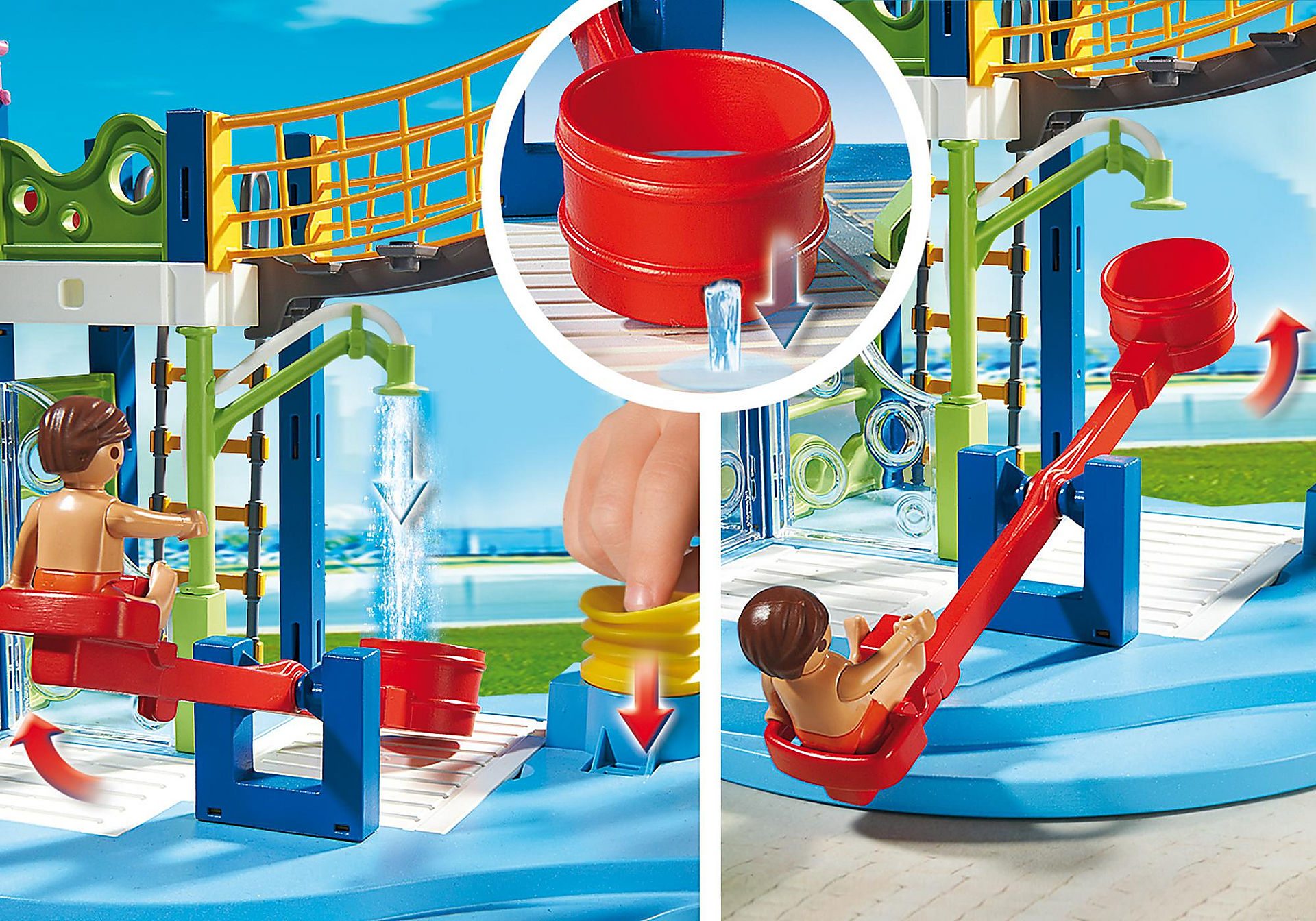 http://media.playmobil.com/i/playmobil/6670_product_extra1/Área de Brincadeiras Aquáticas