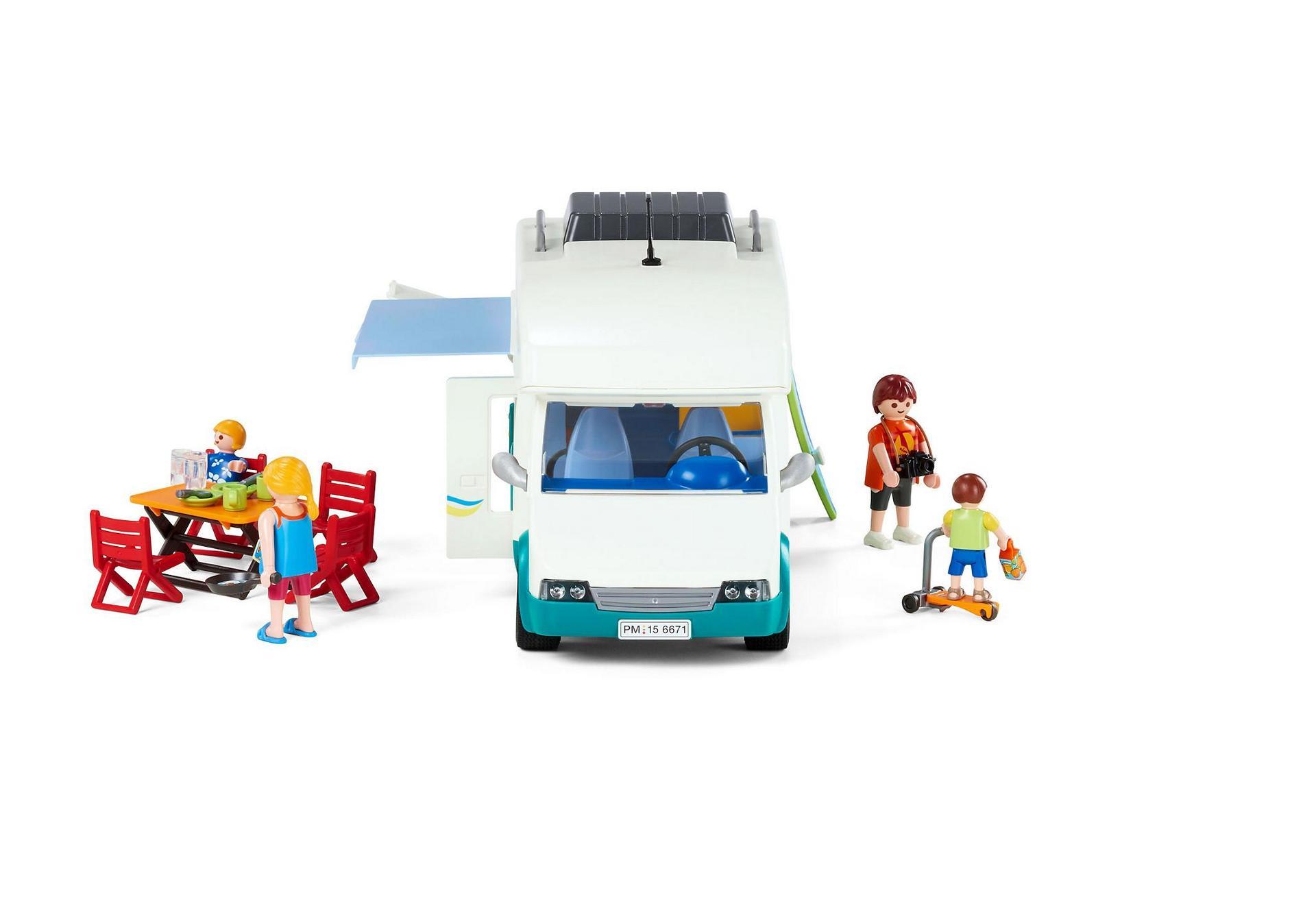 Ausmalbilder Playmobil Familien : Familien Wohnmobil 6671 Playmobil Schweiz