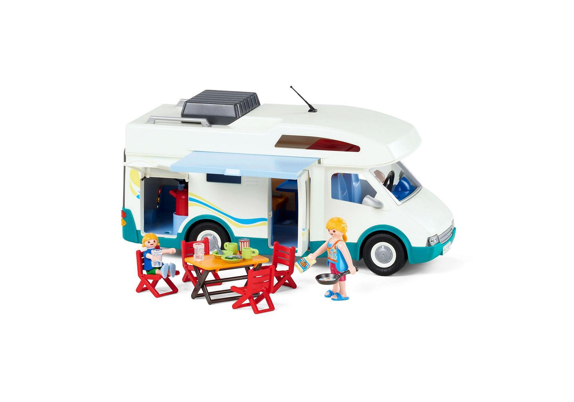 Playmobil Ausmalbilder Polizei : Familien Wohnmobil 6671 Playmobil Schweiz