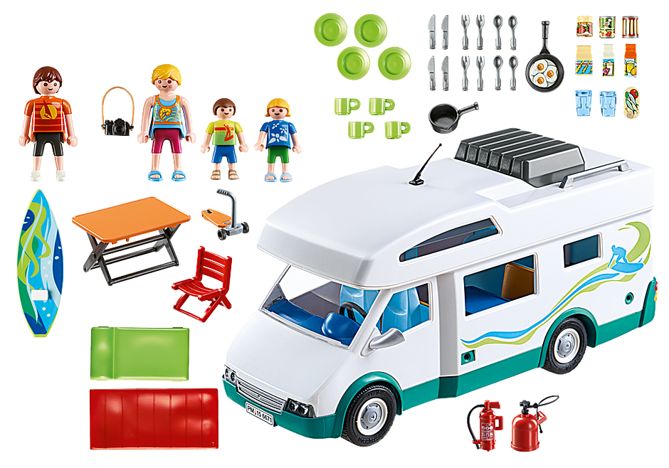6671 Familien-Wohnmobil detail image 4