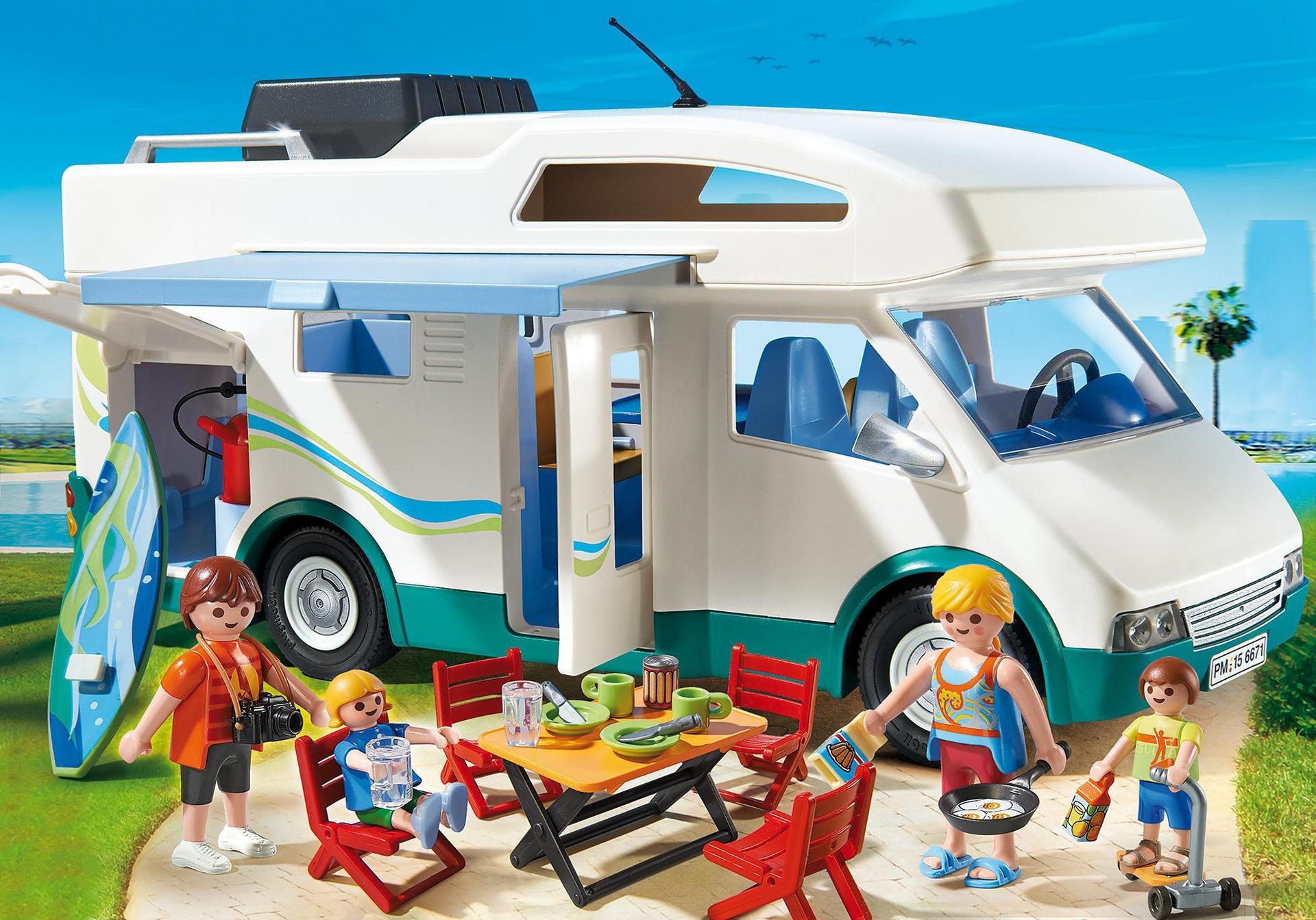 Playmobil Campingplatz Ausmalbilder : Familien Wohnmobil 6671 Playmobil Schweiz