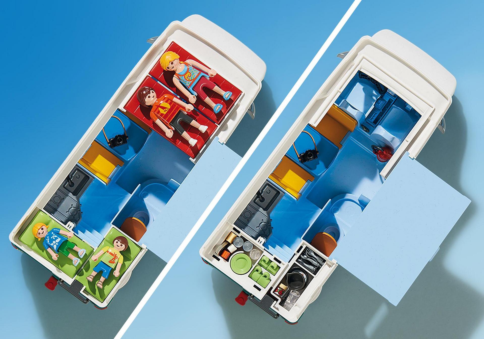 Familien wohnmobil 6671 playmobil deutschland for Autocaravana playmobil