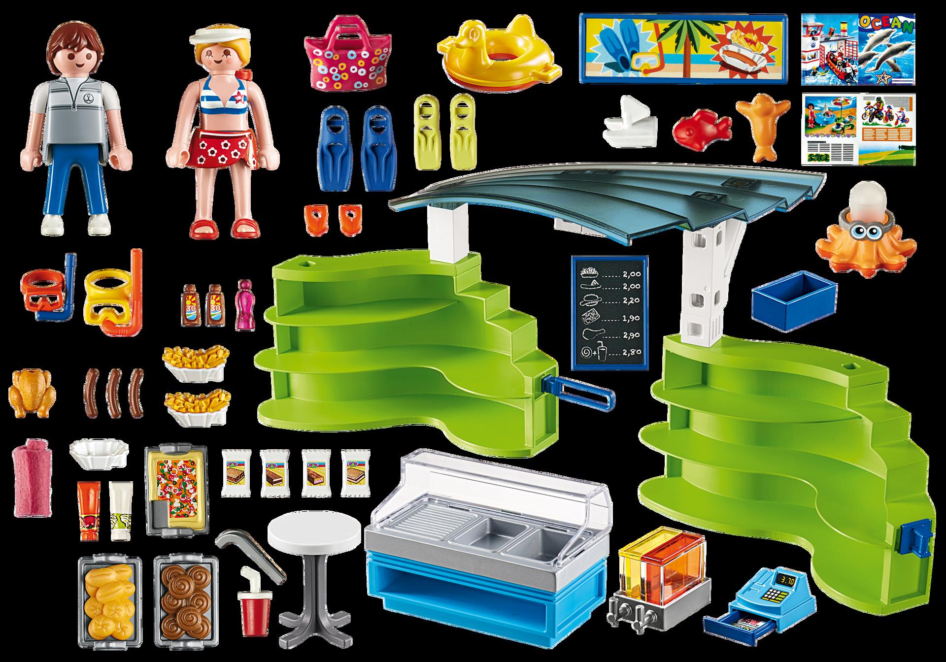 Boutique Et Fast Food Playmobil